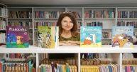 Agata Widzowska gościem biblioteki w Brzeziu