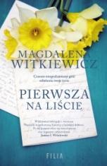 Magdalena Witkiewicz-Pierwsza na liście
