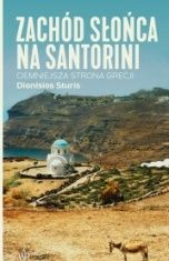 Dionisios Sturis-Zachód słońca na Santorini