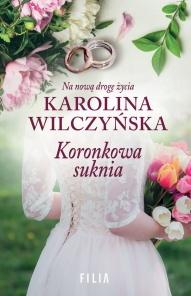 Karolina Wilczyńska-Koronkowa suknia