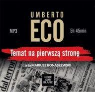 Umberto Eco-Temat na pierwszą stronę