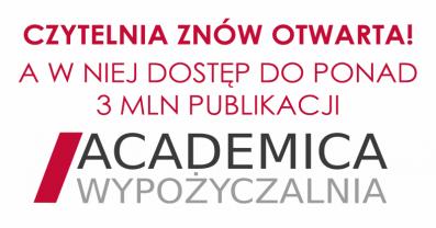 [PL]Czytelnia otwarta od 4 maja!