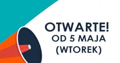 Biblioteka otwarta od 5 maja