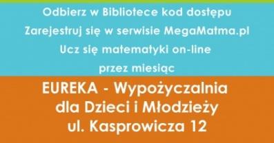 [PL]Wypożycz MegaMatmę w bibliotece