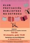 [PL]Tai Chi w Klubie Przyjaciół Biblioteki na Ostrogu