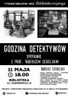 [PL]Tydzień Bibliotek: spotkanie  z prof. Tadeuszem Cegielskim