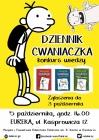 """Konkurs wiedzy - """"Dziennik Cwaniaczka"""" J. Kinneya"""