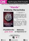 """[PL]Dyskusyjny Klub Książki: """"Harda"""" Elżbiety Cherezińskiej"""