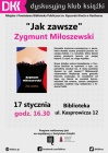 """DKK dla dorosłych. Zygmunt Miłoszewski """"Jak zawsze"""""""