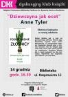 """Dyskusyjny Klub Książki """"Dziewczyna jak ocet"""""""