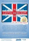 """Cała Polska czyta Dzieciom po angielsku """"The Tale of Peter Rabbit"""""""