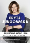 Edyta Jungowska - spotkanie autorskie