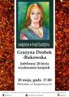 [PL]Grażyna Drobek-Bukowska. Jubileusz 20-lecia wydawania książek