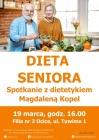 Dieta Seniora-spotkanie z dietetykiem-ODWOŁANE