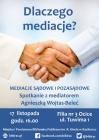 Dlaczego mediacje? - spotkanie z Agnieszką Wojtas-Beleć
