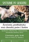 Spotkanie po sąsiedzku: żywienie, profilaktyka oraz choroby psów i kotów