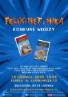 """Konkurs wiedzy """"Felix, Net i Nika"""""""
