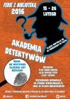 """Ferie z biblioteką: """"Akademia Detektywów"""""""