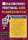 I Raciborski Festiwal Gier Planszowych