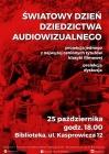 [PL]Światowy dzień dziedzictwa audiowizualnego