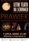 """""""Prawiek"""" na schodach raciborskiej biblioteki"""