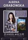 Ałbena Grabowska-spotkanie autorskie