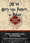 """OGÓLNOPOLSKI KONKURS PLASTYCZNY """"20 lat Harry'ego Pottera w Polsce"""""""
