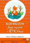 Klub Malucha: język angielski  z FOX School
