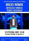Klub Przyjaciół Biblioteki na Ostrogu: spotkanie z Maciejem Nowakiem