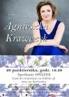 [PL]Spotkanie online z Agnieszką Krawczyk