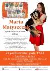 Spotkanie autorskie  z Martą Matyszczak