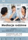 """[PL]Międzynarodowy Dzień Mediacji  Wykład  """"Mediacje rodzinne"""""""