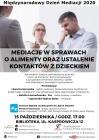 [PL]Mediacja w sprawach o alimenty oraz ustalenie kontaktów z dzieckiem-wykład