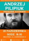 [PL]Fantastyczna wiadomość - Andrzej Pilipiuk w bibliotece!