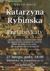Prefabrykaty-wieczór poezji Katarzyny Rybińskiej