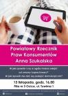 [PL]Spotkanie z Powiatowym Rzecznikiem Praw Konsumentów Anną Szukalską