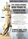 """Dzień Edukacji Prawnej """"Dziedziczenie- to warto wiedzieć"""" – wykład"""