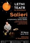 """Letni Teatr na Schodach: """"Salieri"""" w wykonaniu Teatru RAWA"""