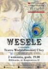 """Spektakl """"Wesele"""" w wykonaniu Teatru Wodzisławskiej Ulicy"""