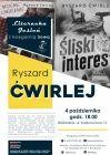 Literacka jesień z Księgarnią Sowa: RYSZARD ĆWIRLEJ