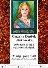 Grażyna Drobek-Bukowska. Jubileusz 20-lecia wydawania książek