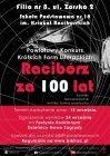 """[PL]Powiatowy Konkurs Krótkich Form Literackich  - """"Racibórz za 100 lat"""""""