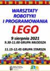 [PL]Warsztaty robotyki i programowania LEGO