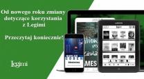 [PL]Nowe zasady korzystania z Legimi w bibliotece