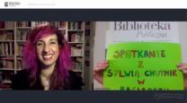 [PL]Spotkanie online z Sylwią Chutnik